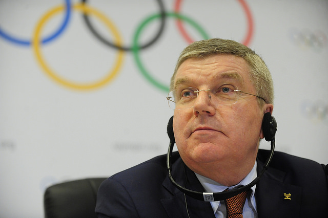 Thomas Bach (Creative Commons 2.0 Generic | https://creativecommons.org/licenses/by/2.0/ | by Agência Brasil Fotografias | https://www.flickr.com/photos/fotosagenciabrasil/16675714435/)