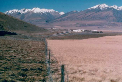 Figure 4: Fenced Grassland in Damshung (Amdo). Image Source: Wild Yak