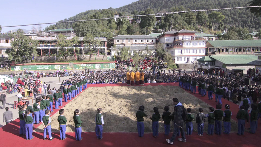 "Screen capture from ""Bringing Tibet Home"" trailer. Courtesy of Tenzin Tsetan Choklay."