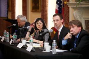 Panel 2 Q&A © NYU Photo Bureau: Hollenshead