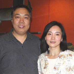 Yu Shiwen and wife Chen Wei