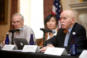 Jerome Cohen Panel 3 Intro Speech © NYU Photo Bureau: Hollenshead