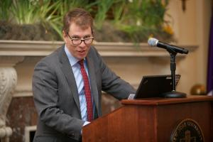 Trevor Morrision's Intro Speech © NYU Photo Bureau: Hollenshead