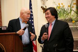 Jerome Cohen, and Harold Koh © NYU Photo Bureau: Hollenshead