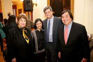 Felice Gaer, Sharon Hom, Bill Bernstein, and Harold Koh © NYU Photo Bureau: Hollenshead