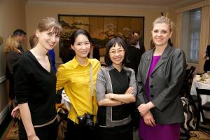 Amanda Brown-Inz, Jiou Park, Sharon Hom, and Casey O'Connor © NYU Photo Bureau: Hollenshead