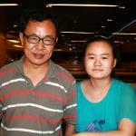 Zhang Lin and Zhang Anni