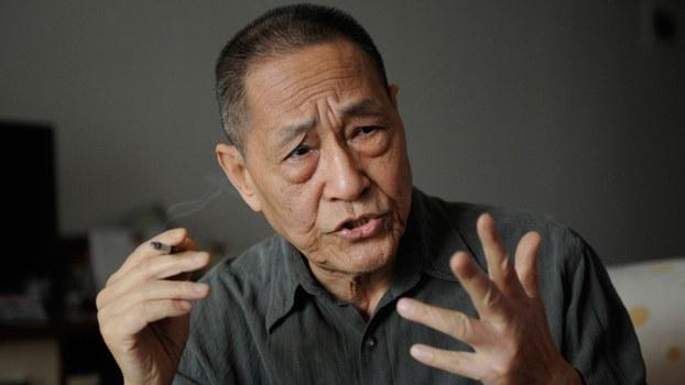 中共前总书记赵紫阳的政治秘书鲍彤(AFP)