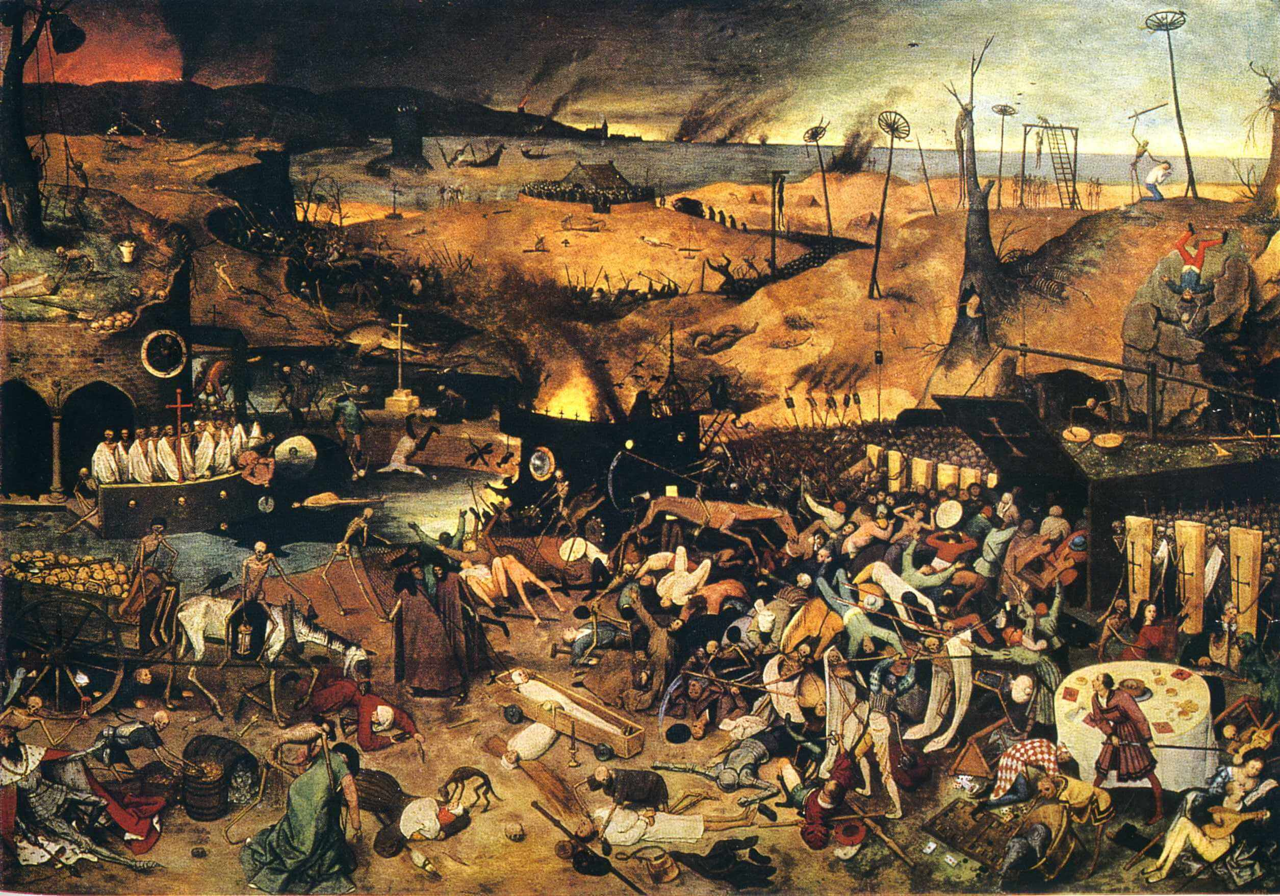 Image result for bruegel triumph of death