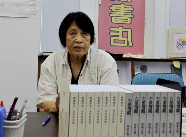 2012年周素子在香港1908书店演讲