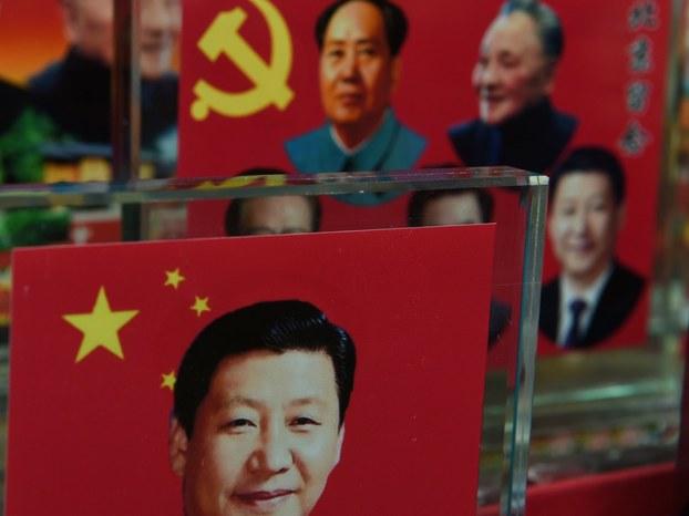 """中共十九大即将召开,坊间关于""""习近平思想""""将写入党章的说法广为流传。(AFP)"""